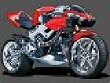giocare Honda racing motorcycle puzzle