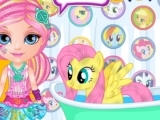 Play Baby Barbie litle pony 2 now
