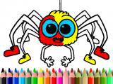 Play Halloween coloring time now