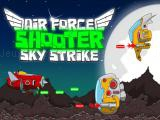 Play Air force shooter sky strike now