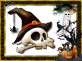 Play Halloween puzzle challenge now