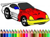 Play Bts muscle car coloring now