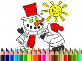 Play Winter time coloring now